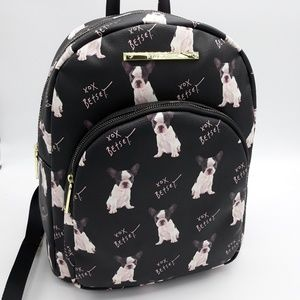 Betsey Johnson Dog Bookbag New with tags
